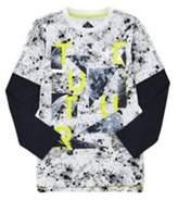 F&F Graphic Print Long Sleeve T-Shirt, Boy's