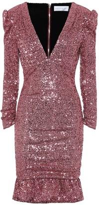 Rebecca Vallance Sequined minidress