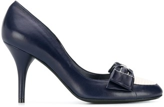 Chanel Pre Owned Bow Detail Pumps