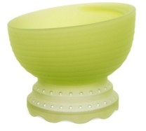 Olababy 100% Toxin-Free Silicone Heat Safe Steam Cooker Baby Feeding Bowl