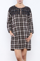 Ivy Jane / Uncle Frank Plaid Embroidered Dress