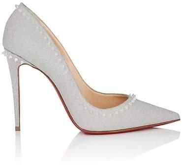 Christian Louboutin Women's Anjalina Glitter Pumps - Silver