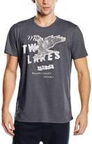 S'Oliver Men's Short Sleeve T-Shirt - Blue -