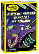 Creativity For Kids Glow-in-the-Dark Paracord Wristband Kit