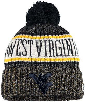 New Era Youth Navy West Virginia Mountaineers Sport Knit Hat with Pom
