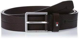 Tommy Hilfiger Men's Modern Pebble Leather Belt 3.5