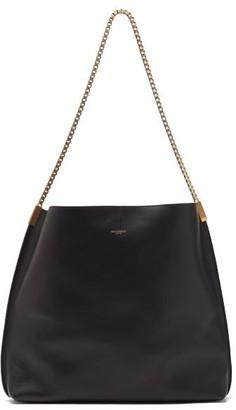 Saint Laurent Suzanne Medium Chain-strap Leather Shoulder Bag - Black