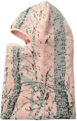 Quietwear Digital Knit Camo 1 Hole Mask Women's Pink One Size