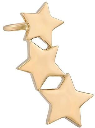 Alinka 18kt yellow gold STASIA Triple Star right ear cuff