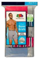Fruit of the Loom Men's 5 pack Stripe/Solid Boxer Briefs