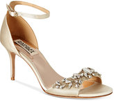Badgley Mischka Bankston Ankle-Strap Evening Sandals