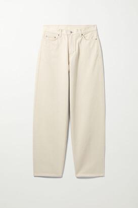 Weekday Rail Mid Loose Straight Jeans - Blue