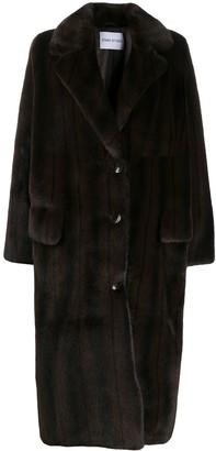 Stand Studio Oversized Faux-Fur Coat