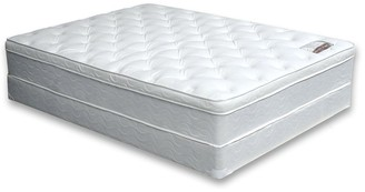 Furniture of America Nivo Contemporary White Twin Foam Mattress