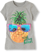 Children's Place Pineapple graphic tee
