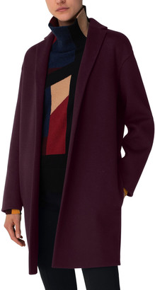 Akris Open-Front Cashmere Duster Jacket