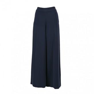 Jonathan Simkhai Navy Trousers for Women