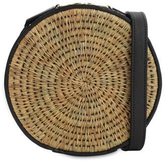 Sindi Raffia Circle Bag