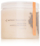 Red Flower Flowers Hold Life Isla das Rocas Revitalizing Sea Salt Scrub - Indian Jasmine