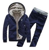 maimai88 Men's Athletic Soft Hoodie Sweatpants Set (M, )