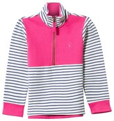 Joules Navy and Off-White Stripe Panelled Jumper