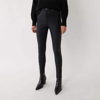 Warehouse COATED SKINNY JEANS