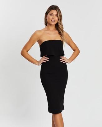 Atmos & Here Elena Strapless Dress