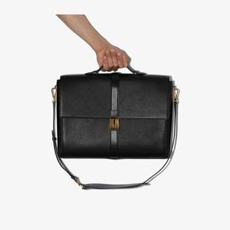 Tom Ford Black leather briefcase