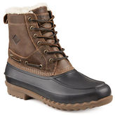 Sperry Leather Round Toe Boots