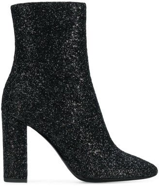 Saint Laurent Lou high ankle boots