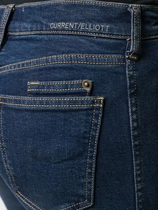 Current/Elliott High-Rise Skinny Jeans