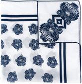Kenzo multi tiger scarf - women - Silk/Cotton - One Size