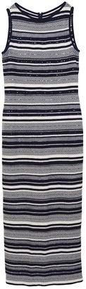 St. John Blue Wool Dress for Women Vintage