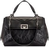 Givenchy Medium ID Flap Bag in Black | FWRD
