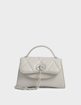 Charles & Keith Padded Chain Link Bag