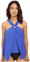 Magicsuit Solid Cameron Underwire w/ Removable Modesty Pad Tankini Top
