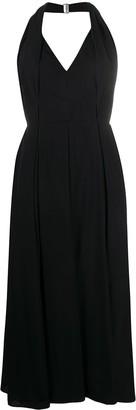 Prada halterneck pleated dress
