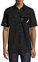 Jil Sander Solid Pockets Sportshirt