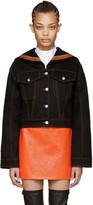 Kenzo Black Denim Sailor Jacket