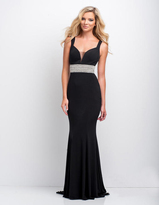 Terani Couture 151P0063A Sophisticated Sleeveless Evening Gown