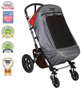 SnoozeShade Plus Deluxe (6m+) - Buggy sun shade and baby sleep aid - Universal fit and blocks up to 97.5% UV