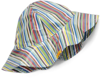 Pluie Pluie Women's Winter Hats NEW - Blue Stripe Rain Hat