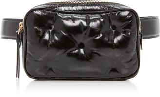Maison Margiela Glam Slam Patent Leather Belt Bag