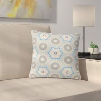 "Satori East Urban Home Angelo Cerantola Indoor/Outdoor Throw Pillow East Urban Home Size: 16"" H x 16"" W x 5"" D"