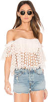 Tularosa x REVOLVE Amelia Crop Top in Pink. - size L (also in M,XL)