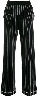 Barrie Striped Trousers