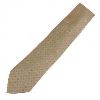 Louis Vuitton Brown Silk Ties