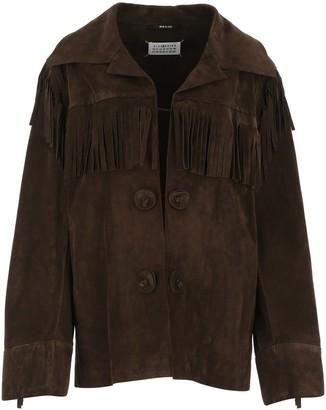 Maison Margiela Fringe-Detailed Jacket