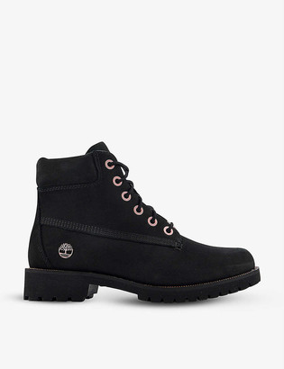 Timberland Slim Premium 6 Inch nubuck leather ankle boots