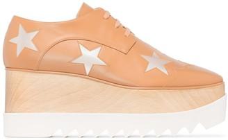 Stella McCartney Elyse 80mm platform Derby shoes